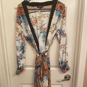 Vici collection kimono/duster robe
